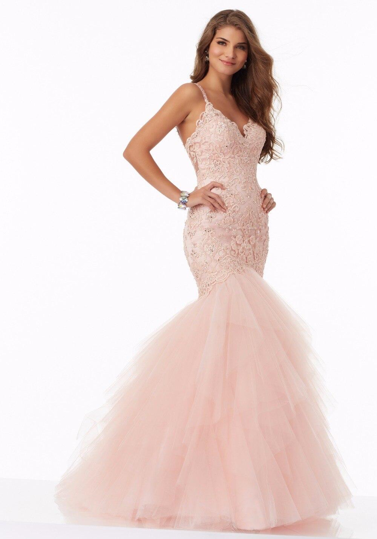 Bellamente Aguamarina Equipada Sirena Baile Vestidos Largos 2017 Con ...