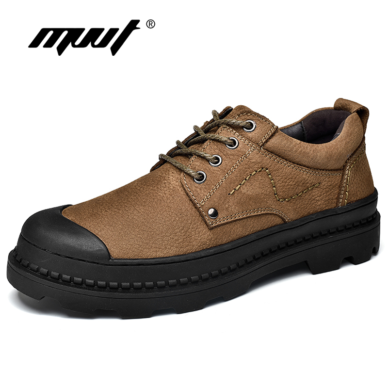 2018 Spring Genuine Leather Men Oxfords Nubuck leather Men Casual Shoes Lace-Up Men Flats Shoes Top Quality  Zapatillas Hombre good quality men genuine leather shoes lace up men s oxfords flats wedding black brown formal shoes