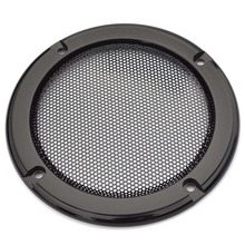 Hot sale 4 inch speaker grille speaker face mask subwoofer car speaker cover screw/Free Shipping(China)