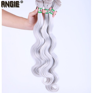 Image 3 - 16 18 20 นิ้ว Body Wave ผมสาน 3 ชุดเดียวสี Double Weft Hair Extension
