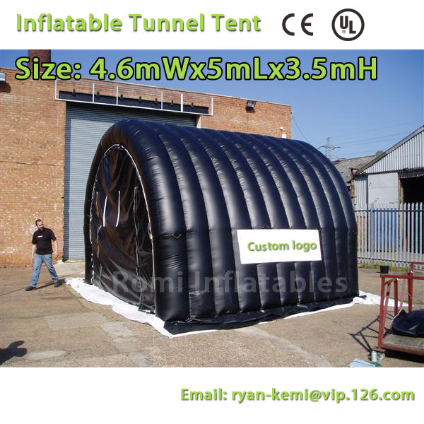 Free Shipping 5x4.5x3.5mH inflatable tunnel tent cover stand advertising Inflatable tent free shipping inflatable garage tent inflatable building storage inflatable car exhibition display advertising tent