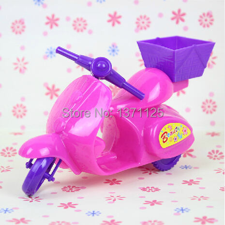Scorching Sale Moterbike Equipment for Barbie Doll Motorbike Women Dream Good Reward for Kids Free Transport