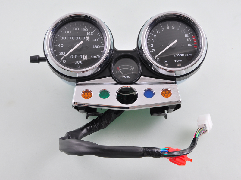Wotefusi Gauges Speedometer Tachometer Instrument Cluster For Honda CB400  Super Four 95 96 1995 1996 [MT127]-in Instruments from Automobiles &