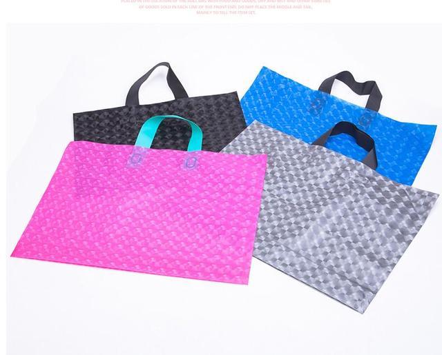 8cf3f28471ef US $80.38 |Big Scrub Gift Bag Thicker Garment Bag Handbag Children 's Wear  Clothing Plastic Bag Gift pack Bags 100pcs-in Gift Bags & Wrapping Supplies  ...