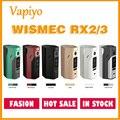 Original wismec reuleaux rx2/3 rx 2/3 rx 23 mod eletrônico tc rx23 150 w/200 w atualizável designed by jaybo e-cig vape nuvens