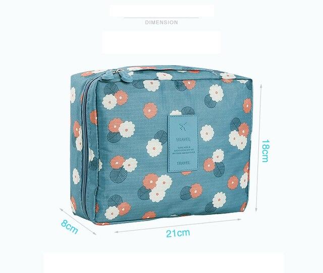 Hot Sale Multifunction travel Cosmetic Bag Women Makeup Bags Toiletries Organizer Waterproof Female Storage Make up Cases 5
