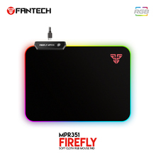 FANTECH MPR351 RGB Mousepad Gaming Mouse Pad 35x25x0.03cm USB Ultra-smooth Cloth Surface With Locking Edge For Gamer