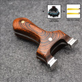 Slingshot Wood Catapult for Hunting Outdoor High Quality Slingshots Shooting Games With Flat Rubber Band