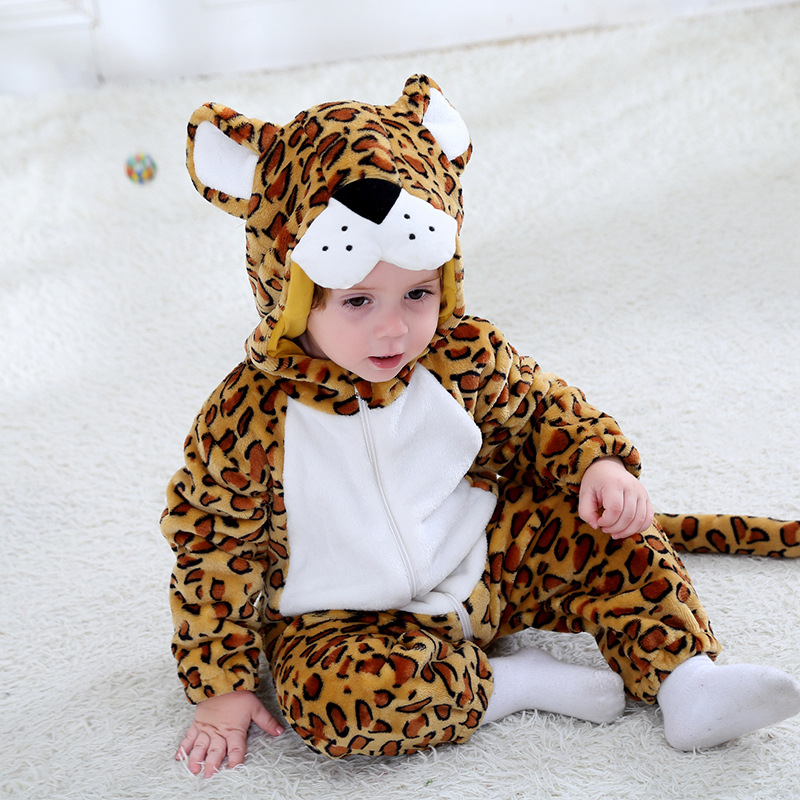 2019 New Born Baby Spring Rompers Cute Cartoon Dinosaur Costumes Baby Boys Girls Fashion Clothes Jumpsuit For Children Pajamas Boys' Baby Clothing
