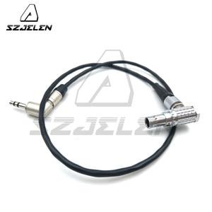Image 5 - STECKER 0B 5pin zu 3,5mm stecker Tentakel Sync TimeCode Kabel zu ARRI Mini/XT/Sound Devices 688 664, 50 cm