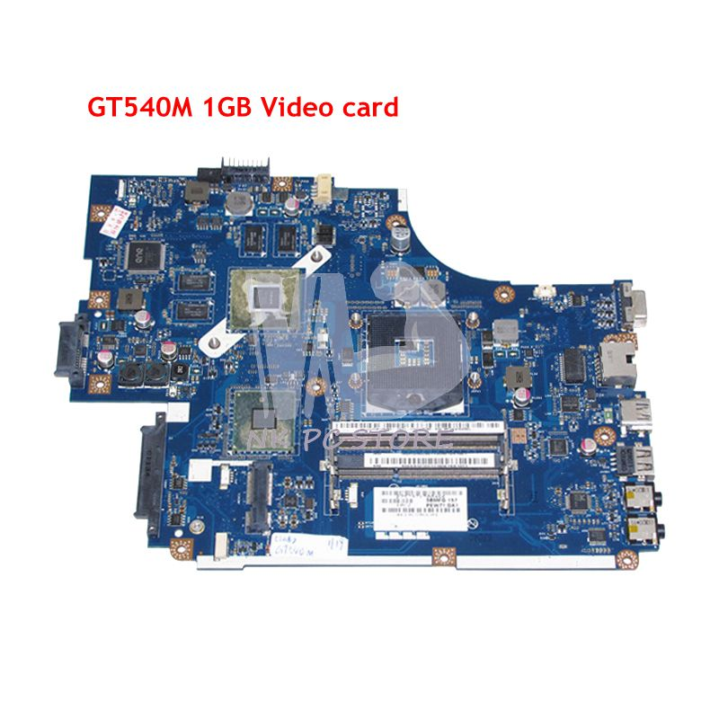 NOKOTION MBRB902001 MB.RB902.001 For Acer aspire 5742 5742G Laptop Motherboard PEW71 LA-5894P HM55 DDR3 GT540M Video card 1GB nokotion mbwju02001 mb wju02 001 for acer aspire 5742 5742g laptop motherboard new70 la 5892p hm55 uma ddr3 free cpu
