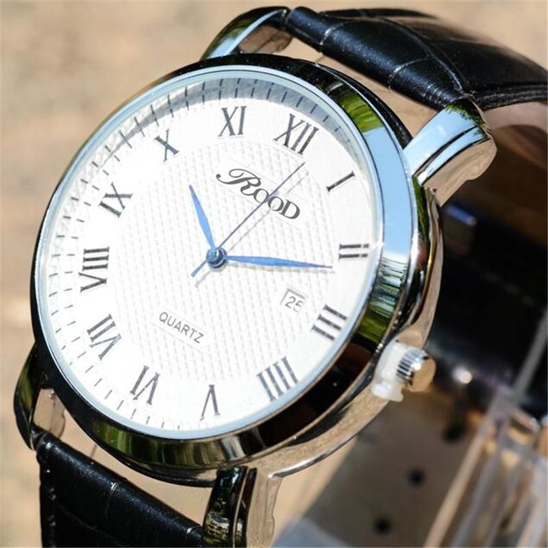 relojes hombre Luxury brand watch ROOD fashion casual men watches relogio masculino clock reloj hombre de marca de lujo мужской ремень cinto couro marca