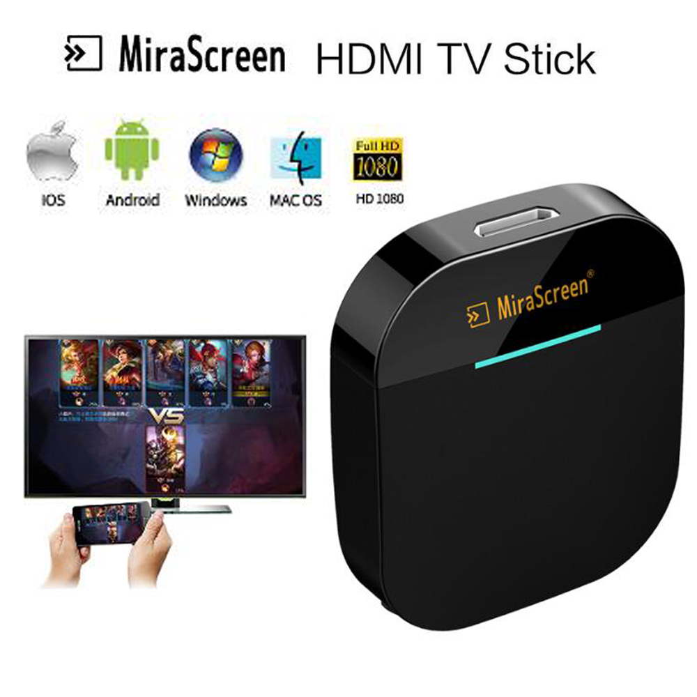 Wireless WiFi Display Receiver TV Stick Miracast Airplay DLNA Screen Mirroring