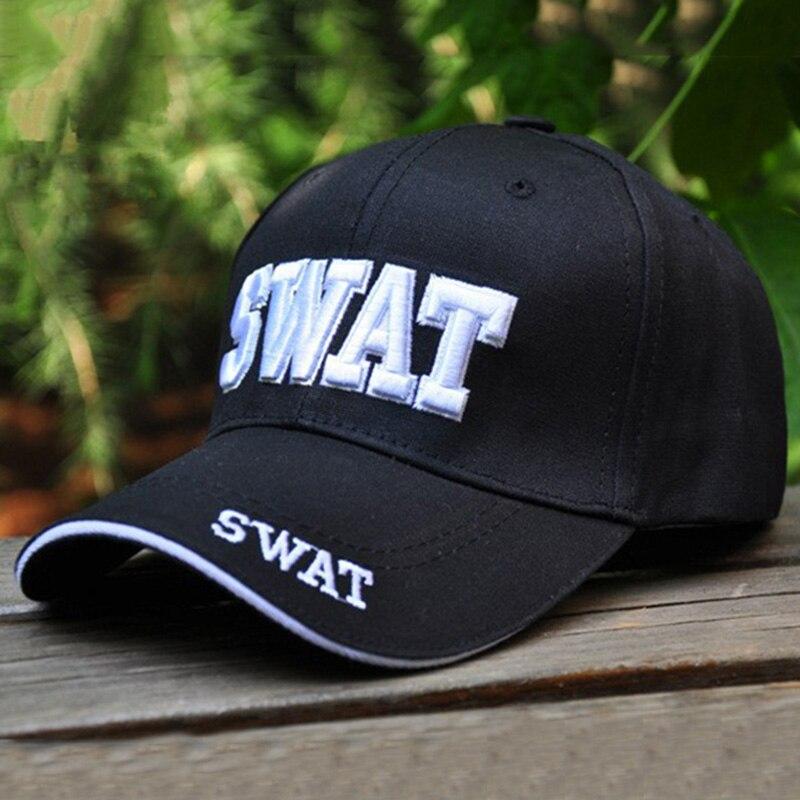 Prix pour 2016 SWAT Caps Ourdoor Casquettes de Baseball Os FBI Snapback Pour Hommes Haute Qualité Tactique Cap Réglable Taille 56-60 cm