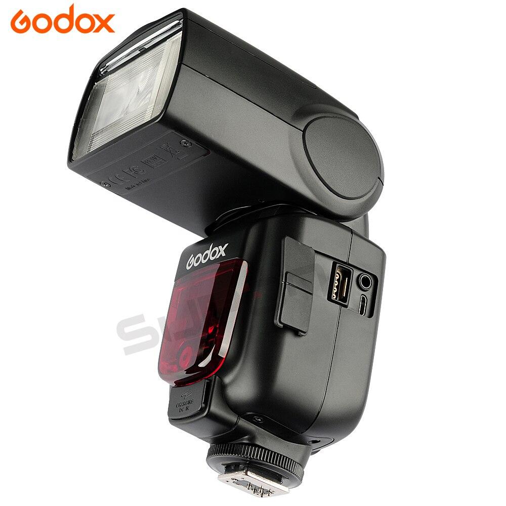 2pcs Godox TT685 TT685C 2.4G Wireless TTL High-speed sync 1/8000s GN60 Flash Speedlite + X1T-C Transmitter for Canon DSLR Camera