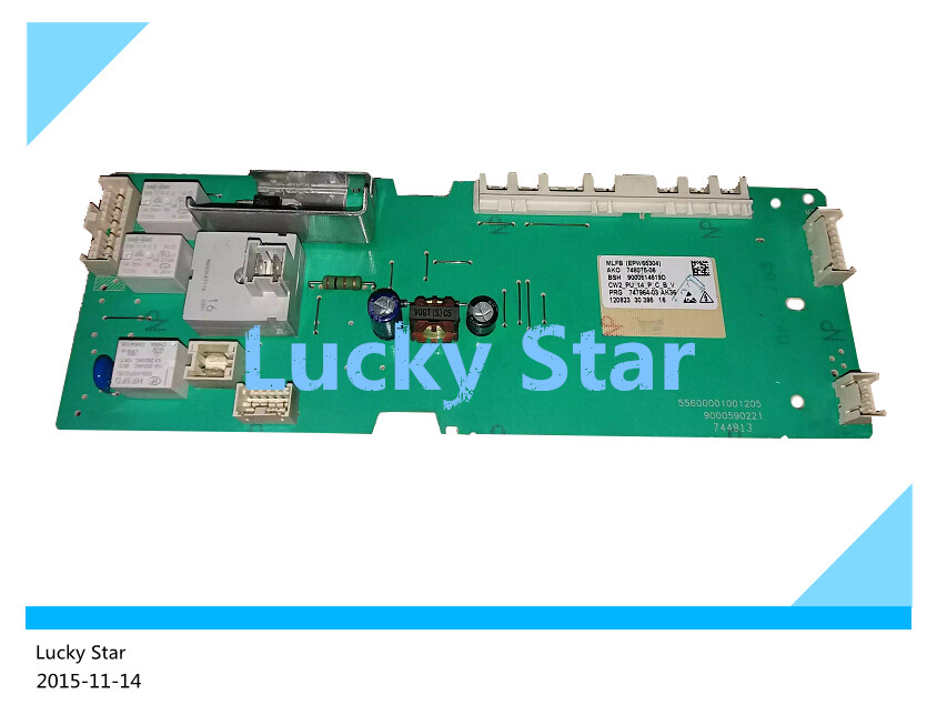 100% new good working High-quality for SIEMENS washing machine Computer board WM12E268TI WM08X268TI EPW65304 board good working high quality for lg washing machine computer board wd n10310d ebr61282428 ebr61282527 board