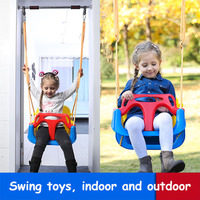 Children's Toys Swings for Children Indoor and Outdoor Household Three in one Baby Swing Outdoor Hanging Chair Baby Swing Nest