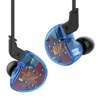 KZ ZS10 Hi Fi Stereo Earphone 1DD 4BA Hybrid Ear Buds In Ear Hifi Earphones DJ