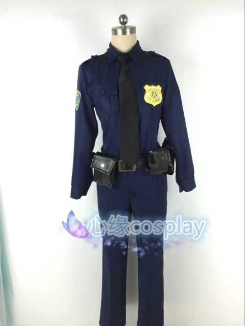 Zootopia Nick Wilde Judy Hopps Cosplay Costume Halloween Uniform Shirt+Tie+Pant+Bag