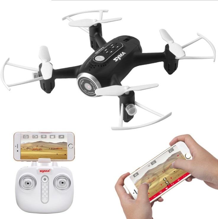 Mini drone RC avec caméra WIFI HD jouets pour enfants cadeau hélicoptère quadrirotor télécommandé