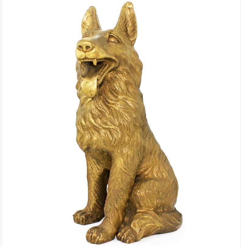 cuivre supplment dargent du nord ouest coin manquant lumire chien chien chanceux ameublement - Le Nord Ouest En Feng Shui