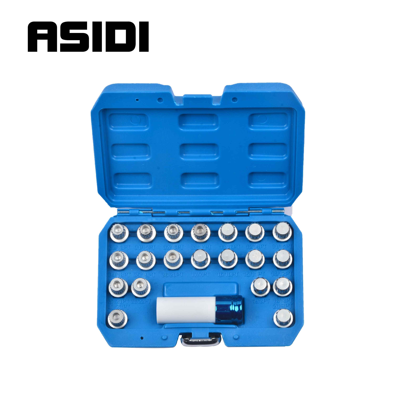 21pc Locking Wheel Nut Screw Lock Socket Key Master Tamper Proof Tools Set For BMW  PT1829