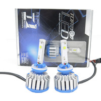 High Quality T1 Led Headlight 880 881 H27 3000lm 30W 6000k 12 24v Fog Lamp DRL