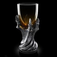 Hot Sale Creative 3D dragon claw mug resin glass Skull goblet mug personal Skeleton whiskey beer mug creative Claw mug