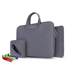 Cartnoe 4 in 1 Suit Handbag Hot Neoprene Brand Laptop Bag Sleeve Case For MacBook Air Pro Retina11 /12/13/15 inch