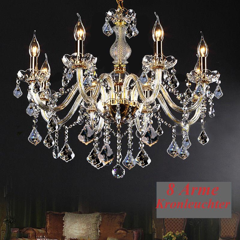 цена на Ship from DE! 8 Arms Chandelier Pendant Lamp Ceiling Light Dining Room Lamp Chandelier Light Ridgeyard