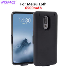6500mAh Fashion External Back Clip Battery Case For Meizu16th Plus Battery Charger Cases For Meizu16th Power Charging Cover Case