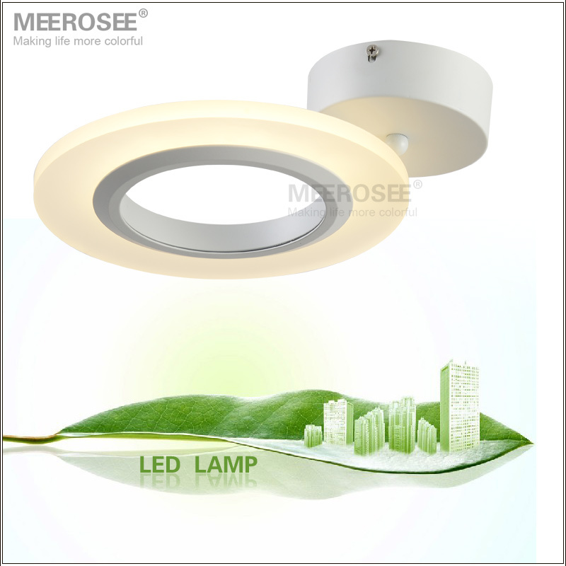 Modern Small Acrylic LED Ceiing Light Flushed Mounted Round Ceiling Lamp Aisle Corridor Application Light Fixture Free Shipping