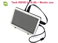 7inch HDMI LCD B With Bicolor Case 800 480 Capacitive Touch Screen LCD Display Module Support