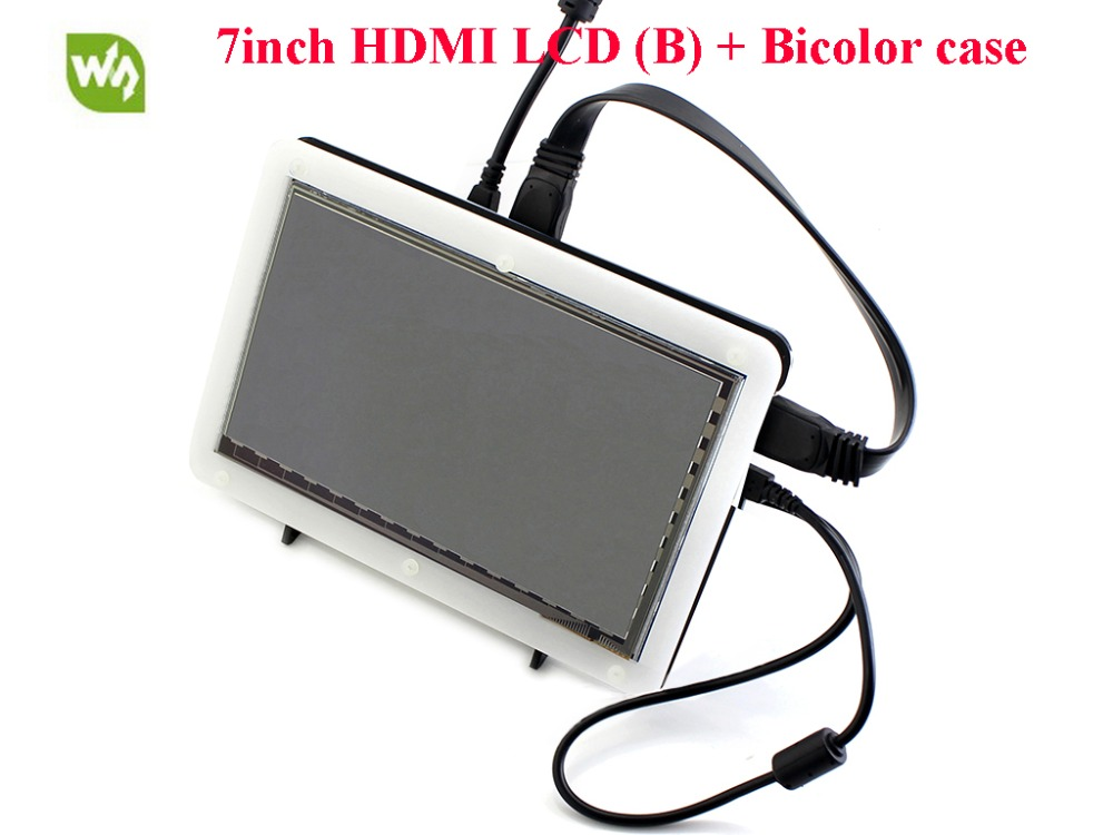 7inch HDMI LCD 800*480 Capacitive Touch Screen for Raspberry Pi B/A+/B+/2B/3B/3B+ Free driver for raspbian/Windows 10/8.1/8/7