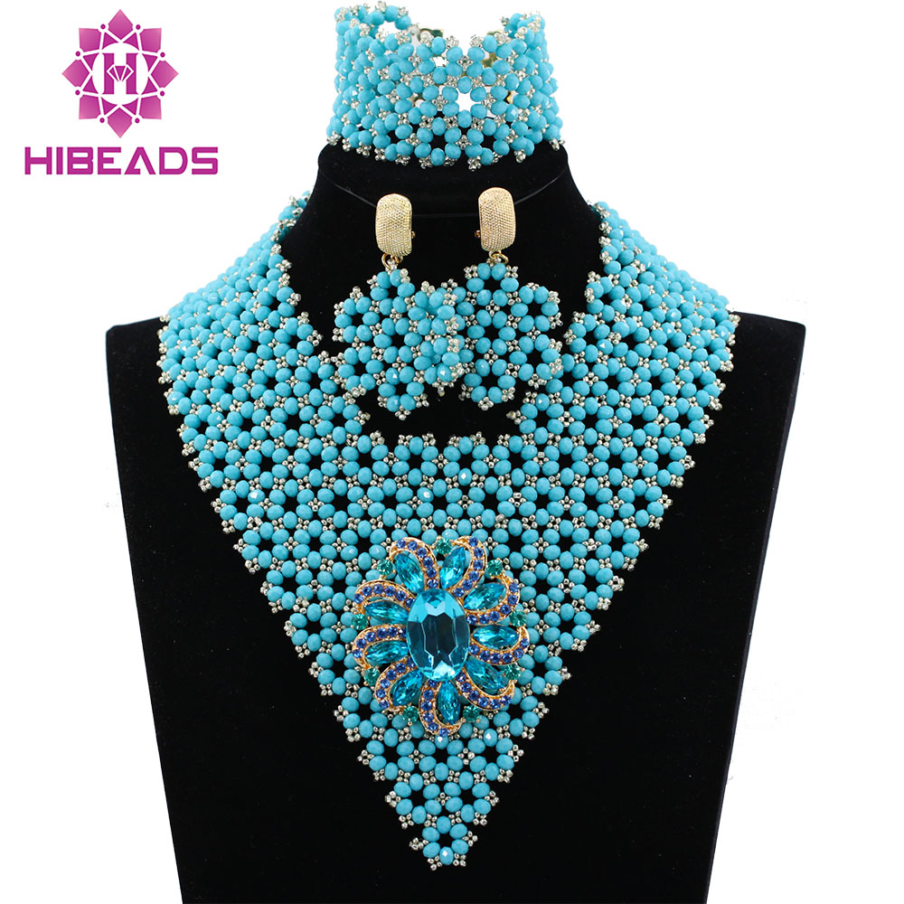 Latest Silver Seed Beads Indian Bridal Jewelry Sets Wedding ...