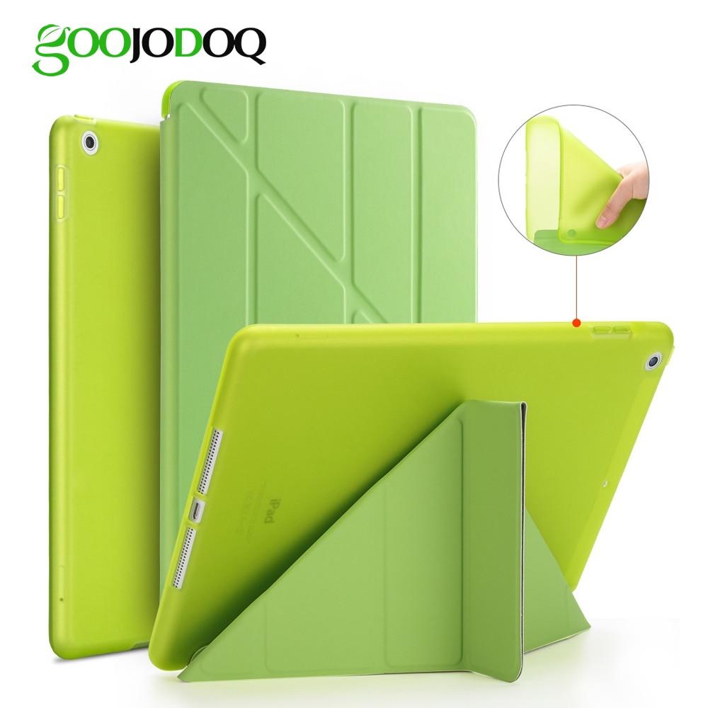 case selection for ipad mini 4 - For iPad 2 3 4 Case for iPad Mini 4 3 2 1 5 2019 Case Silicone Soft Back Multi-fold  Leather Smart Cover for iPad Mini 4 Case