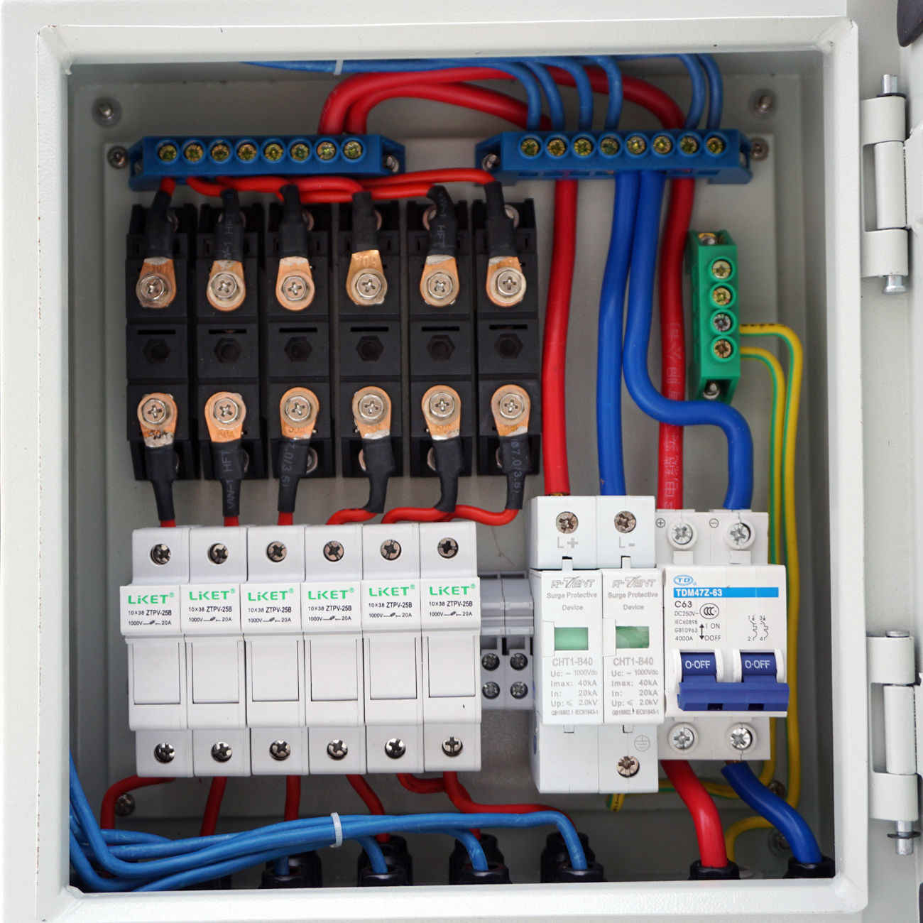 detail feedback questions about 6 string solar pv combiner box w pv combiner box wiring diagram [ 1300 x 1300 Pixel ]