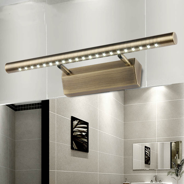 Rvs Badkamer Muur Lampen Waterdichte LED Spiegel Verlichting ...