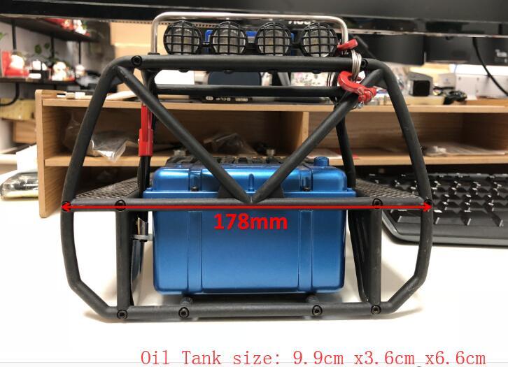 CROSS 1//10 SG4 SR4 Crawler Vehicle RC Model Parts Plastic Oil Fuel Tank Kit