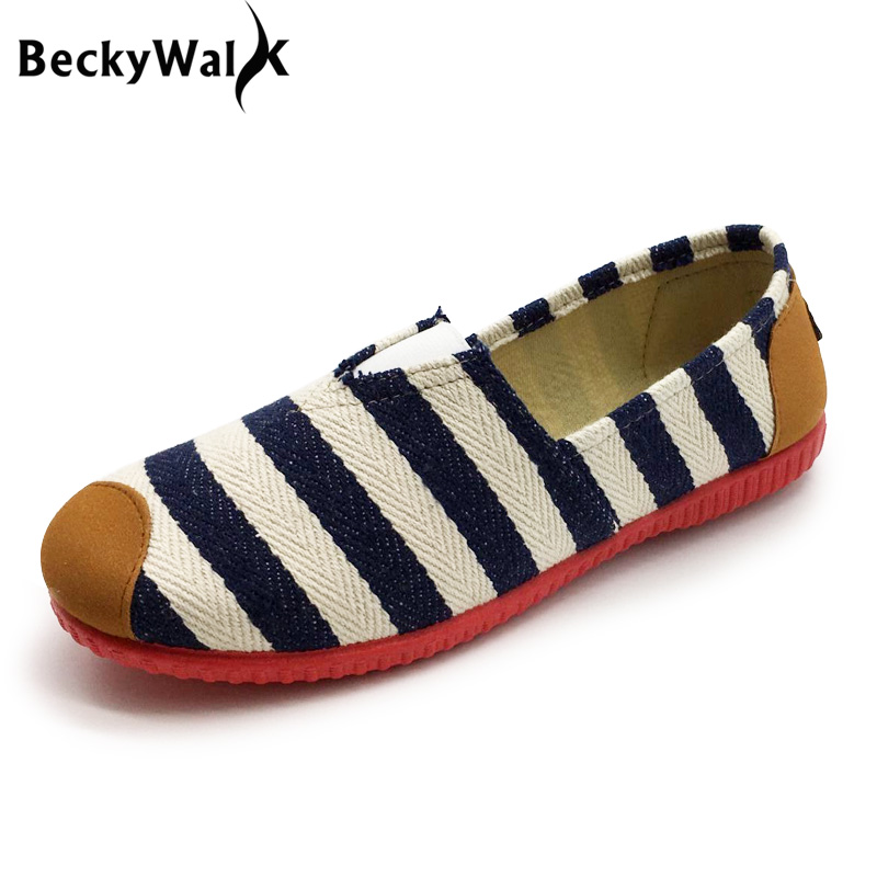 Striped Lazy Shoes Woman Comfortable Female Flat Shoes Women's Flats Slip On Spring Summer Womens Shoes for Mother zapatos mujer 234w ijoy captain pd270 tc box mod