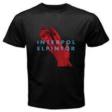 3154b6737c5776 Nowy interpolu EL PINTOR ELPINTOR Rock Band męska czarna koszulka rozmiar S  do 3 XLcotton krótkie rękawy