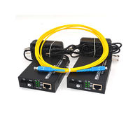 Jyttek 10/100M Ethernet over Singlemode fiber optic Media Converter for IP CCTV