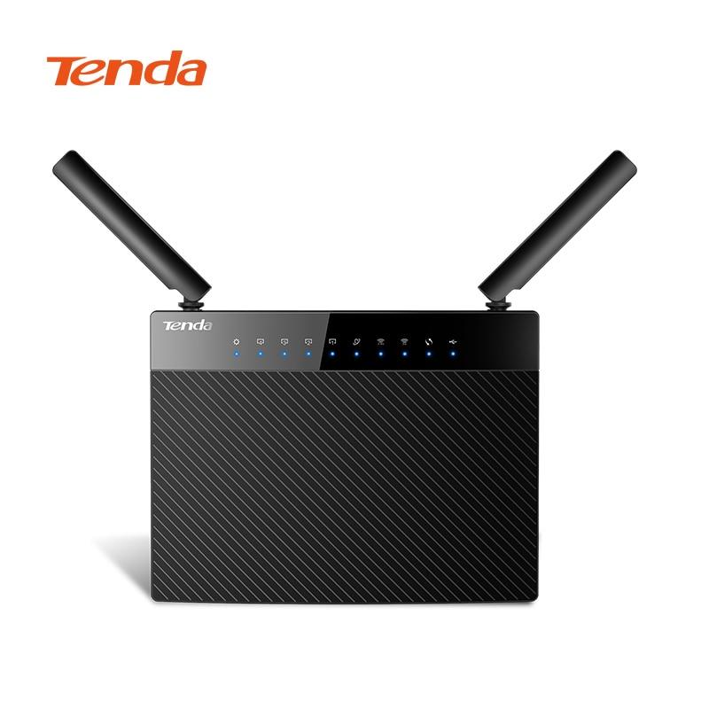 Répéteur Wifi Tenda AC9 Lite AC1200 routeur Wifi 5 Ports Gigabit double bande 2.4 GHz/5 GHz routeur Wifi sans fil avec micrologiciel anglais