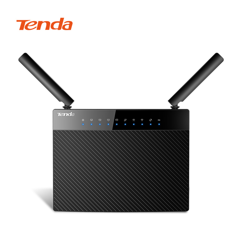 Tenda AC9 Lite AC1200 Wifi Repeater 5 Gigabit Ports Router Dual-Band 2.4GHz / 5GHz Wireless Wifi Router with English Firmware порт вах h3c волшебники h3c волшебное r200 версия 1200m gigabit dual band wireless router gigabit fiber частный домашний маршрутизатор wi fi