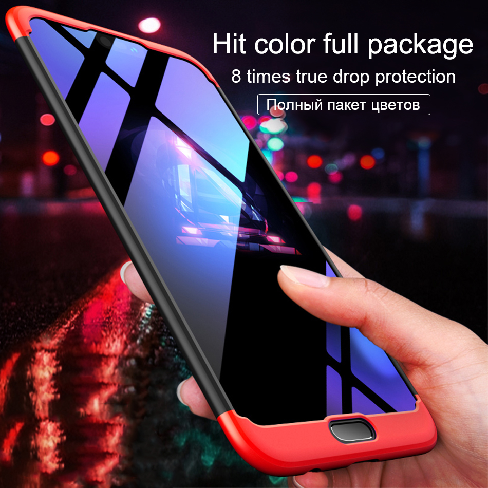 For Huawei Honor eight 9 10 Lite Honor V9 V10 7A 6X Case 360 Diploma Full Safety Exhausting Computer Honor For Notice 10 Case three In 1 Again Cowl