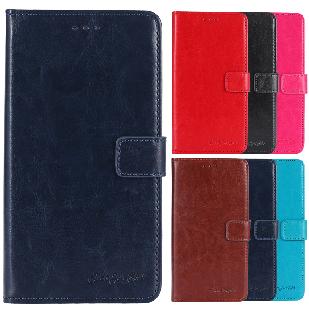Qualified Tienjueshi Flip Book Design Protect Leather Cover Shell Wallet Etui Skin Case For Digma Vox S507 4g 5 Inch Phone Pouch Cellphones & Telecommunications