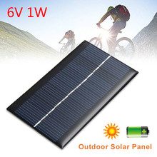 6V 1W Solar Panel Standard Epoxy Polycrystalline Silicon Mini DIY Module Panel System for Battery Power Charge Module Solar Cell