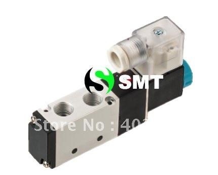 4V210-08 solenoid valve, pneumatic valve, 24VDC solenoid valve, 10pcs/ctn free shipping new original solenoid valve dv12405h 24vdc
