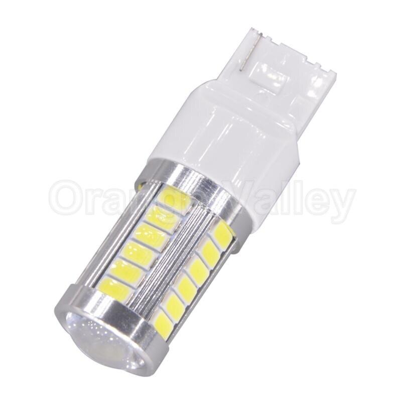 50Pcs Super Bright T20 W21W 7440 33 LED 5630 SMD Car Auto Rear Lights Reverse Lights