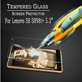 "Nuevo de calidad superior Lenovo S8 5.3 ""protector de pantalla! Vidrio Templado Protector de Pantalla para Lenovo S898t + Octa core MTK6592-Wholesales"